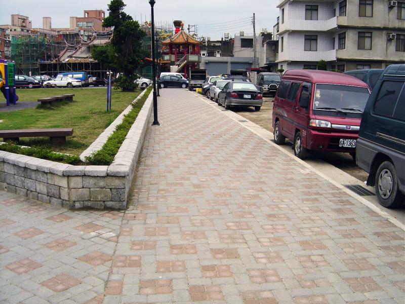 新竹縣第六期竹北市天后宮市地重劃區重劃工程